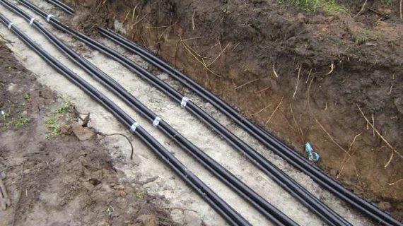 Прокладка кабельных линий