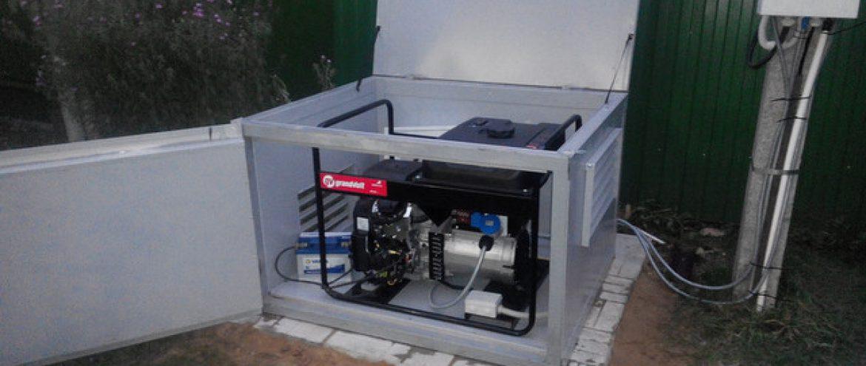 Установка генератора