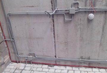 Скрытая и наружная электропроводка