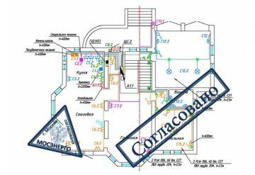 Проект внутреннего электроснабжения