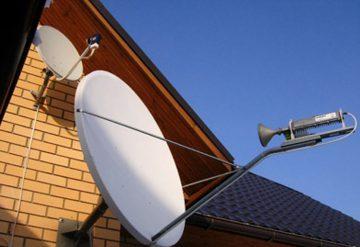 Установка спутниковых антенн